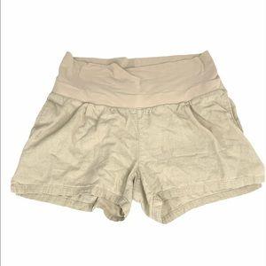 Old Navy Panel Shorts, Tan, Large